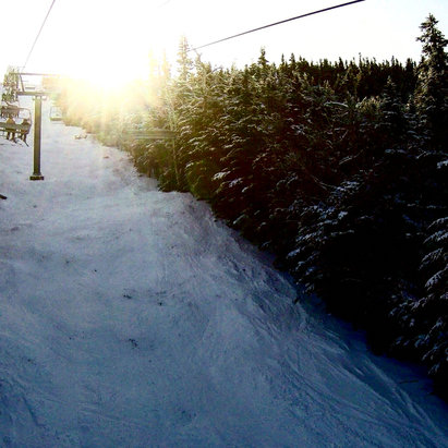 Wildcat Mountain - Morning sun runs.  - © iPhone (2)