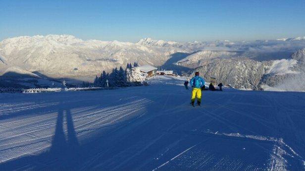 Ski Juwel Alpbachtal Wildschönau - nach Neuschnee vom 17.1. traumhaftes Ambiente und tolle Pisten - © vols1966