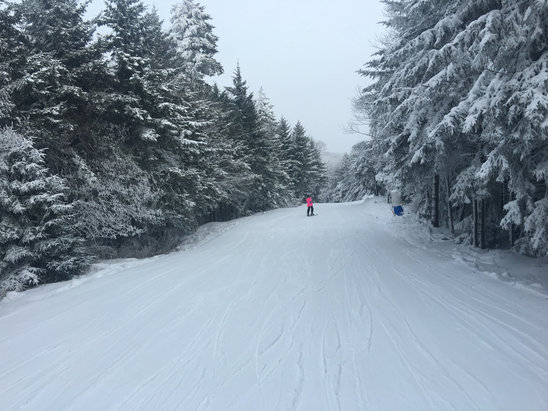 Canaan Valley Resort - Had a great time 2 days ago!  No lines and perfect conditions! - © Josh's iPhone