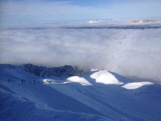 Les 7 Laux - Bonne neige parfait grand ciel bleu  - © Alex