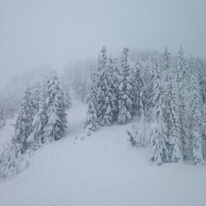 Stevens Pass Resort - Great day at Stevens pass - © John's iPhone