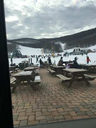 Whitetail Resort - Place is best it's been for a long time. U need to get here best snow ever  - © Sam,s iPhone