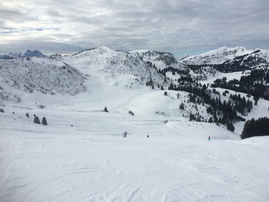Les Diablerets - Firsthand Ski Report - ©William's iPhone
