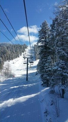 Angel Fire Resort - Great conditions all around! Some slopes had closer to 2ft of powder.  - © Ally