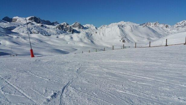 Val d'Isère - Need a freshen up, but fantastic day - © curljjm
