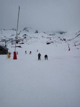 Fórmigal - Buena nieve las 2 primeras horas. Despues nieve de peor calidad pero aceptable.  Considerando lo nevado, estaba muy bien - © acastillofrias