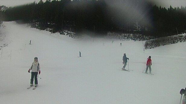 Les 7 Laux - visibilité très faible mais neige fraiche très agréable. plaisir à skier malgré le temps.  - © pierregillesfrostin