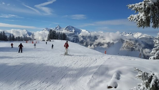 Les Carroz - Stunning today - © alexcmsmall