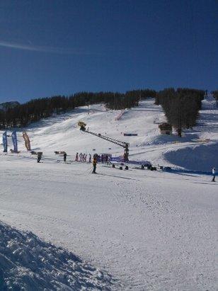 Serre Chevalier - retour du froid et conditions difficiles site certaines pistes. - © marcarole49