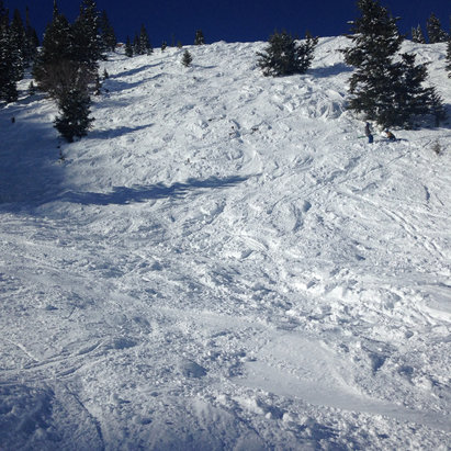 Crested Butte Mountain Resort - Wonderful double black diamond skiing! - © Tom's iPhone