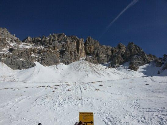 Obereggen - Pampeago - Predazzo - piste ben innevate e ottime fino alle 15,30......paesaggio deprimente  - © bartet67
