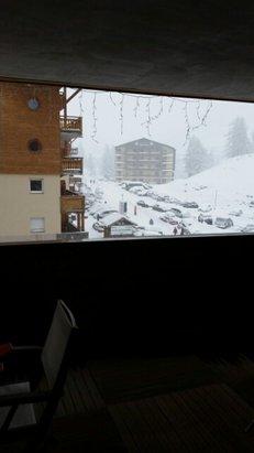 Val d'Allos - La Foux - Ça neige !  - © etienne.veber