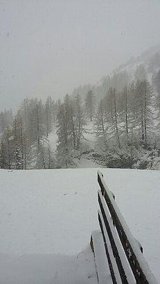 Val d'Allos - La Foux - Il neige - © nathalg27