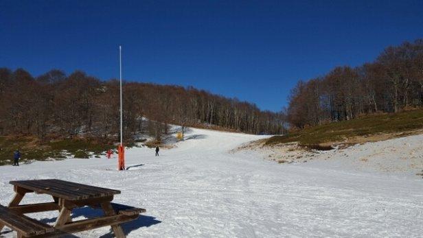 Campo Felice - Rocca di Cambio - Sabato 6 febbraio giornata fantastica!! - © giancarlosegatori1964
