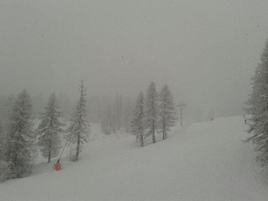 Puy Saint Vincent - pas cool de skier dans ces conditions... - © jeanmi
