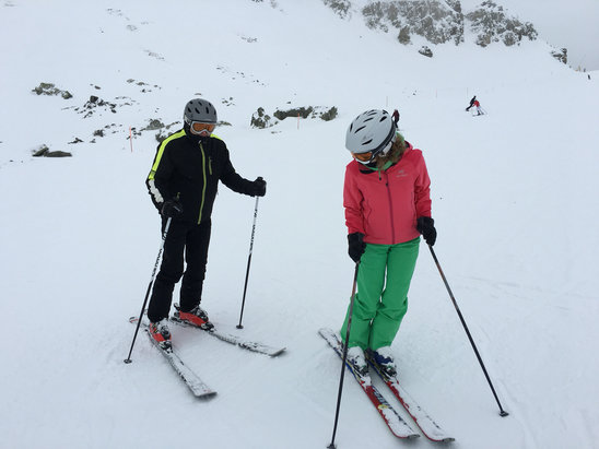 Champoluc - Monterosa Ski - Neve fresca, 20 cm - © iPhone di Nevio