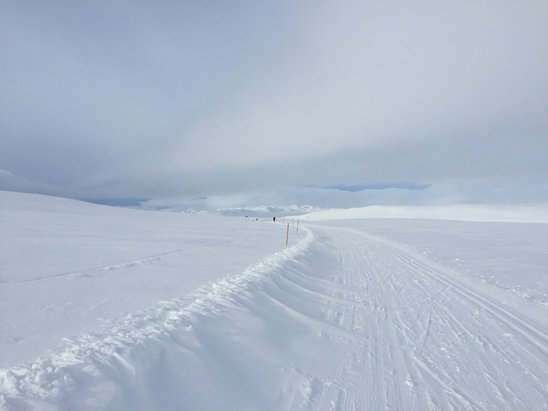 Hovden - [! skireport_firsthandpost_pagetitle ] - © Heidis iPhone