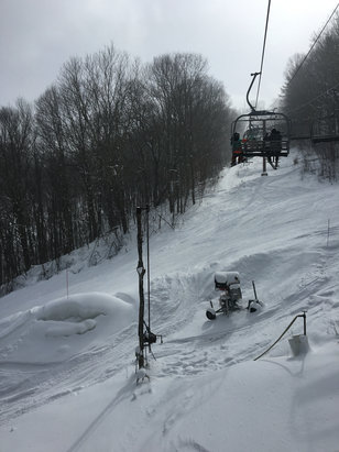 Wolf Ridge Ski Resort - Great conditions today.  - © local rider