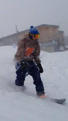 Le Schnepfenried - Superbe journée, la neige etait top, et le personnel toujours aussi accueillant  - © iPhone de Alexandre
