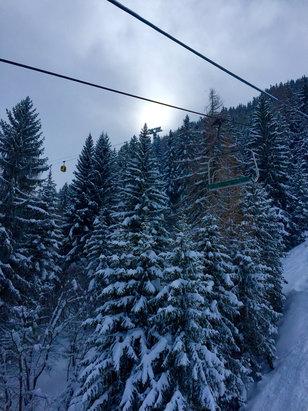 La Thuile - Tanta tantissima neve - © iPhone di Fabio