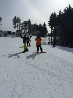 Snowshoe Mountain Resort - Great conditions, way to crowded!! 