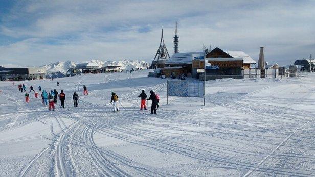 Plan de Corones / Kronplatz - Snow overnight. Loose heavy surface in afternoon. - © pbutton100