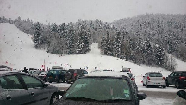 Ventron - Quelques centimètres de neige cette nuit, c'est super. - © thierry.demmel
