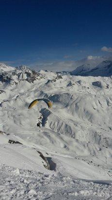 Montchavin - La Plagne - Au top. La Plagne c est un régal  - © skjonass