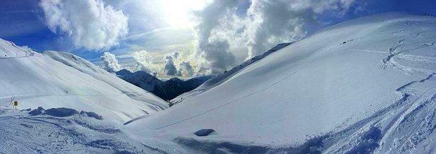 Lizzola - Se l'è fresca! Piste ottime e neve spettacolo :) - © Nicole