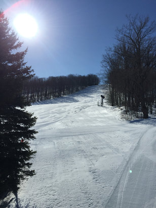 Holimont Ski Area - Firsthand Ski Report - ©R's iPhone
