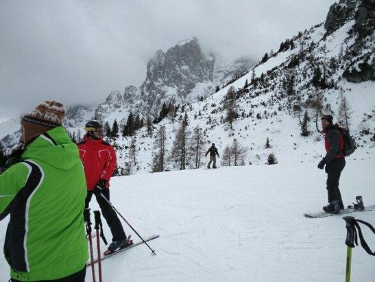 Sextner Dolomiten / Alta Pusteria - poca neve ma piste in ottime condizioni - © Nicholas