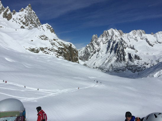 Chamonix Mont-Blanc - Super day at Vallee Blanche - © Arie's iPhone