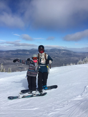 Sugarloaf - Great conditions today! - © Emily Ann Hanson's iPhon