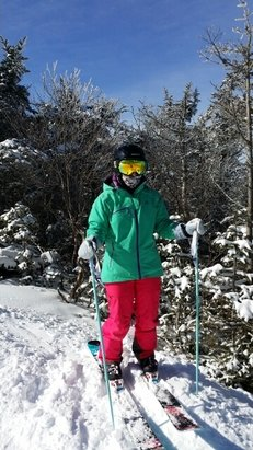Cannon Mountain - What a great state owned resort.  In your face fall line plus great service and best conditions in the state.  - © LeMans Skiing