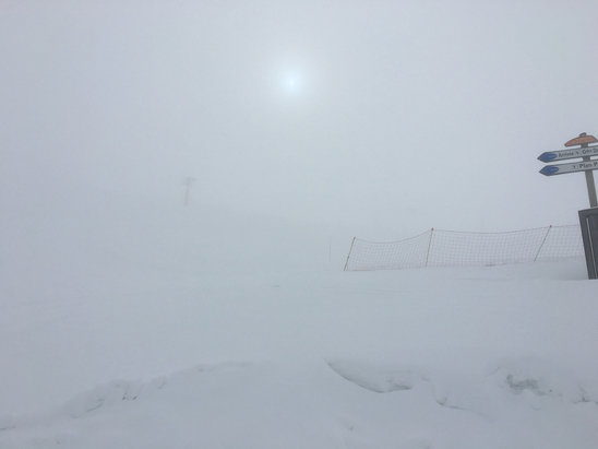 Valloire - White out today - © Rich's iPhone 6s