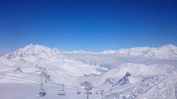 Sainte Foy Tarentaise - great snow after two consecutive snowfalls  - © virginie.guiraudon