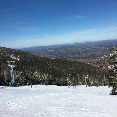 Cannon Mountain - These are the conditions you've waited for. Hard pack, some loose stuff on the edges, icy in spots but minimal for normal east coast conditions. Awesome day! - © Rory C-D, iPhone