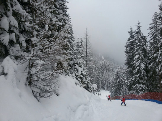 Pozza di Fassa - Aloch - Buffaure - [! skireport_firsthandpost_pagetitle ] - © iPhone di Federico
