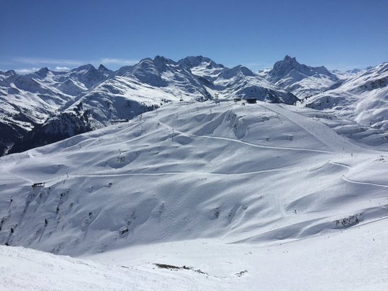 St. Anton am Arlberg - Another gorgeous day! - © iPhone