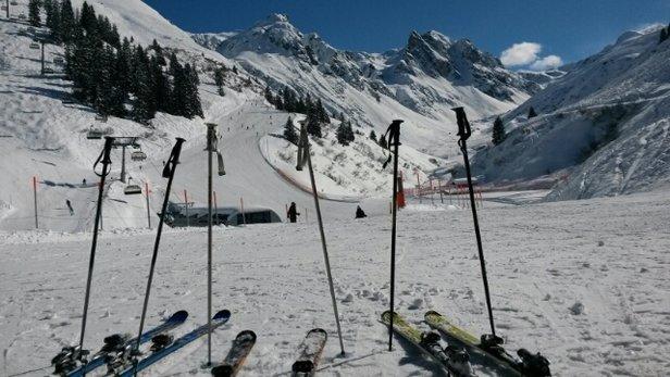 Silvretta Montafon - Gestern und heute ein Traum in blau.  Topschneeverhältnisse - © armin.ah71