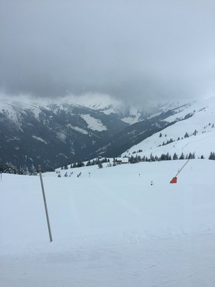 Kitzbühel - Cloudy and icy today. Still fun. No crowds  - © darryl's iPhone