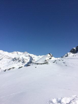 Champoluc - Monterosa Ski - Giornata splendida neve ottima speriamo che duri - © iPhone di Paolo