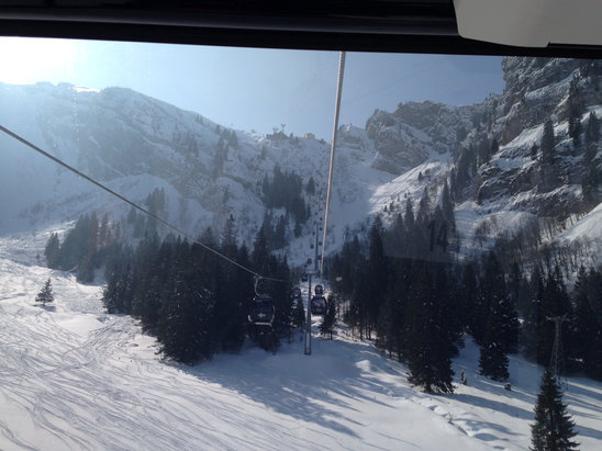 Engelberg - Great day, super sunny and great visibility.