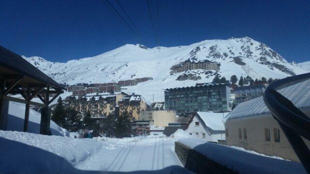 Grand Tourmalet (La Mongie / Barèges) - d'le bombe..! journée au top..! super temps ✌ - © rasta.yolive