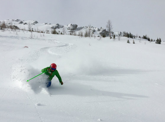 Nakiska Ski Area - Great conditions, today. Pow ...  - © peak2peakski