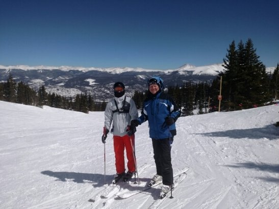 Breckenridge - Was a great day yesterday.  1st day of our Spring Break. Should be an amazing week. - ©brent.pace66