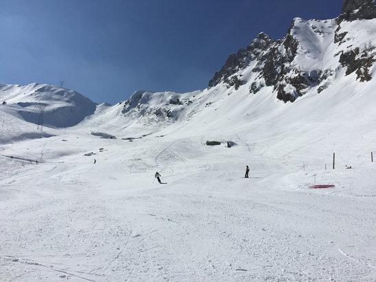 Pescegallo - Valgerola - Belle piste e bella neve - © iPhone di Stefano