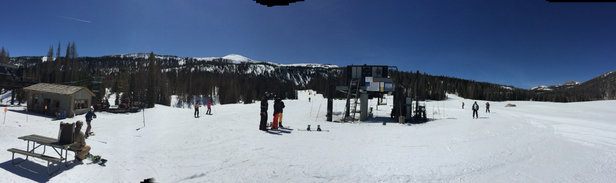 Wolf Creek Ski Area - Had an excellent time, expect spring conditions. Very few people.  - © Jorge J.'s iPhone