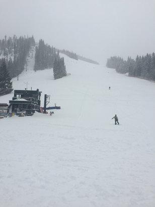 Winter Park Resort - So much powder!!! - ©Scott's phone