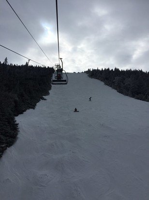 Sugarbush - Another great day at the 'bush.  New snow made ripcord run of the day!